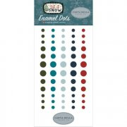 Adhesive Enamel Dots - Carta Bella - Let it Snow