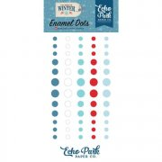 Adhesive Enamel Dots - Echo Park - Celebrate Winter