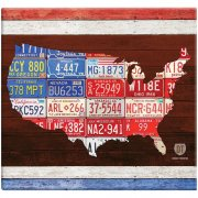 Album 12x12 Tum MBI - American License Plate - Post Bound