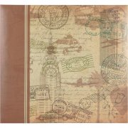 Album 12x12 Tum MBI - Postmark Travel - Post Bound
