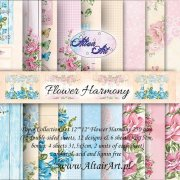 Papper Altair Art - Flower Harmony - 12 designs