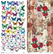 Papper Altair Art - Butterflies 2/Flowers