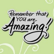 Cling Rubber Stamp - You Are Amazing - Stampendous