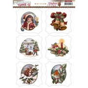 Amy Design Topper Sheet A4 - Greetings