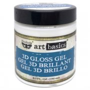 Art Basics 3D Gloss Gel Transparent - 236 ml - Prima Marketing