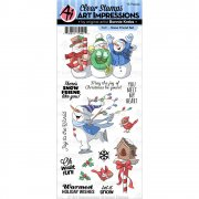 Art Impressions Clear Stamps - Snow Friend