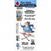 Art Impressions Clear Stamps Set - Loads Of Fun