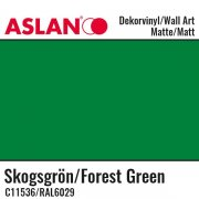 Vinyl Matt - Aslan Folie - 32 x 100 cm - Forest Green