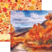 Papper Reminisce 12x12 - Autumn Splendor - Autumn Leaves