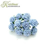 Mulberry Rose - 10 mm - Baby Blue