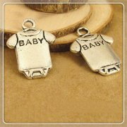 Charms 4 st - Baby Body 16mm