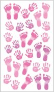 Stickers Sticko - Pastel Baby Girl Prints