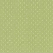 Bazzill Dotted Swiss Cardstock - Clover Leaf Trio - Celtic Green