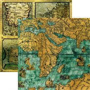 Papper Reminisce - Buccaneer Bay - Pirate Maps
