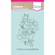 Clearstamps StudioLight - I Wish You A Beautiful Day