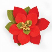 Dies - Sizzix Bigz - Build A Poinsettia