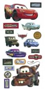 "Disney Stickers 12""x6"" Pixar Bilar"