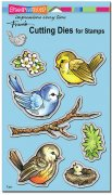 A Dies Cutting Set - Spring Tweets - Stampendous
