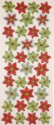 Dimensional 3D Stickers - Christmas Star