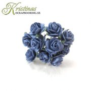 Mulberry Rose - 10 mm - Dark Blue