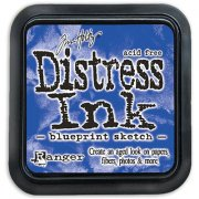 Distress Ink - Blueprint Sketch - Tim Holtz