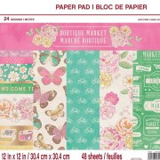 Paper pad Craft Smart - Boutique Market - 12x12 Tum