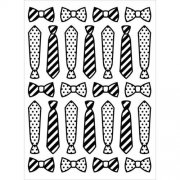 Embossing Folder - Ties And Bow Ties