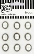 Brads YouDo - White Oval Pearl - 9 st
