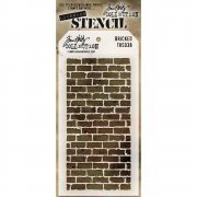 Schablon Tim Holtz - Bricked