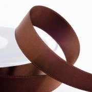 Satinband 24 mm - Brown