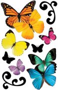3D Stickers - Butterflies - Paper House