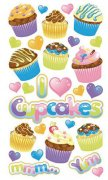Stickers Sticko - Party Goodies Glitter - 29 delar
