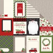 "Papper Carta Bella - Christmas Delivery - Journaling Cards 3""X4"""