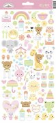 Cardstock Stickers Doodlebug - Bundle of Joy - 6x12 Tum