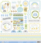 Cardstock Stickers Doodlebug - Special Delivery - 12x12 Tum