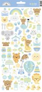 Cardstock Stickers Doodlebug - Special Delivery - 6x12 Tum