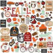 Cardstock Stickers Echo Park - My Favorite Fall