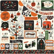 Cardstock Stickers Echo Park - Trick or Treat
