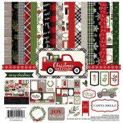 Paper Pad 12x12 - Carta Bella - Christmas Delivery