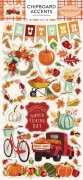 Fall Break - Chipboard Accents -  Carta Bella
