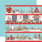 Carta Bella  - Santas Workshop - Border Strips