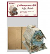 Cartonnage Kit Stamperia - House of Journal