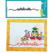 Dies Lawn Fawn Cuts - Celebrate Border
