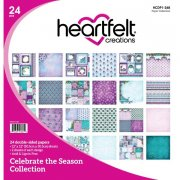 Paper Pad 12x12 - Heartfelt Creations - Celebrate The Season
