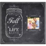"Album 12""x12"" MBI - Chalkboard Look Finish - Post Bound"