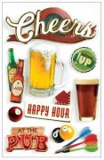 3D Stickers - Cheers - Paper House