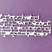 Chipboard Die Cuts - Brick Wall