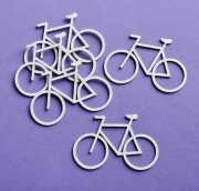 Chipboard Die Cuts - Cyklar