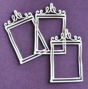 Chipboard Die Cuts - Doodling frames 5