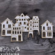 Chipboard Die Cuts - Little Houses